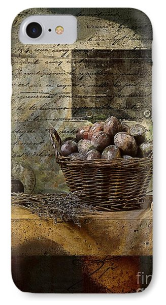 Campagnard - Rustic Still Life - S02sp IPhone Case by Variance Collections