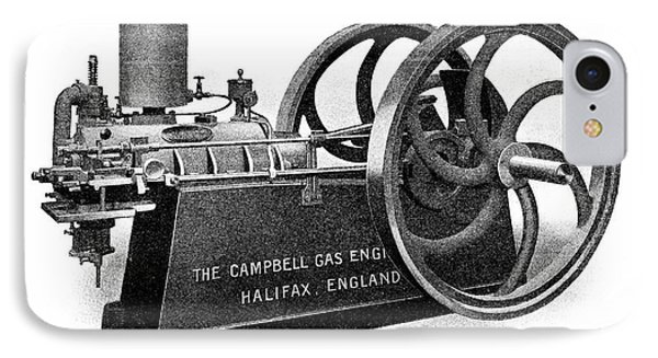 Campbell Petrol Engine IPhone Case