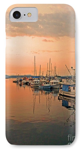 Campbell River Marina Phone Case by Nancy Harrison