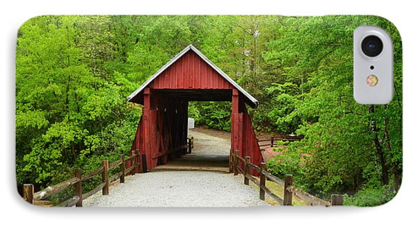 IPhone Case featuring the photograph Campbells Covered Bridge by Bob Sample
