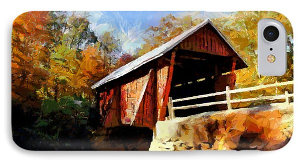 Campbell's Covered Bridge IPhone Case