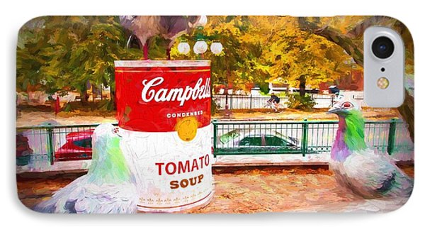 Campbell's Soup IPhone Case by Bill Howard