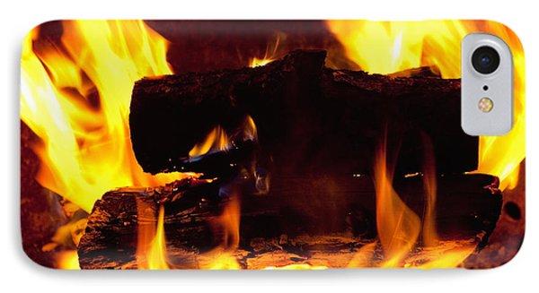 Campfire Burning IPhone Case