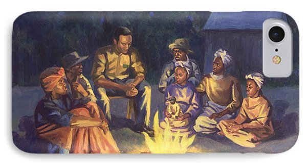 Campfire Stories IPhone Case