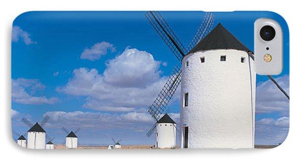 Campo De Criptana La Mancha Spain IPhone Case by Panoramic Images