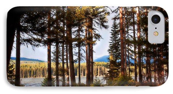 Campsite Dreams IPhone Case by Janie Johnson