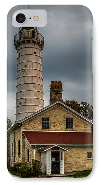 Cana Island Lighthouse By Paul Freidlund IPhone Case