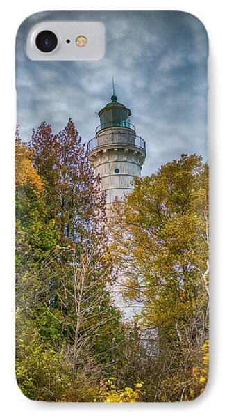 Cana Island Lighthouse II By Paul Freidlund IPhone Case by Paul Freidlund