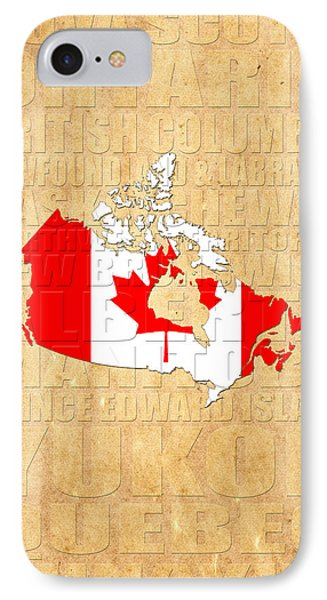 Canada IPhone Case by Andrew Fare
