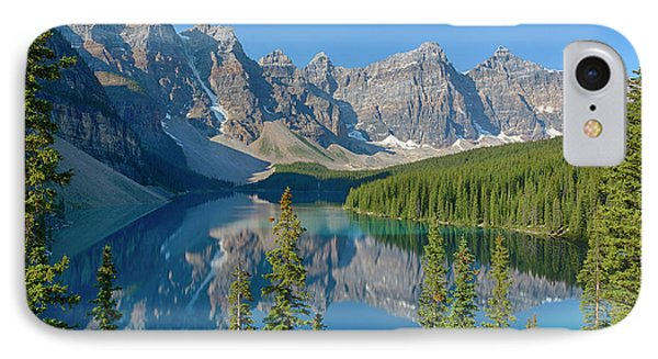 Canada, Banff National Park, Valley IPhone Case