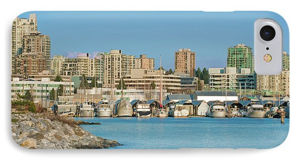 Canada, Bc, Vancouver, North Vancouver IPhone Case by Rob Tilley