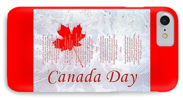 Canada Day .. The Maple Leaf Forever Phone Case by The Creative Minds Art and Photography