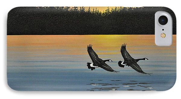 Canada Geese Phone Case by Kenneth M  Kirsch