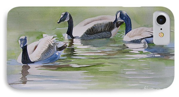 Canada Geese IPhone Case by Sharon Freeman