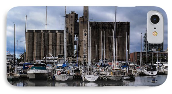 Canada Malting Silos Harbourfront IPhone Case by Nicky Jameson