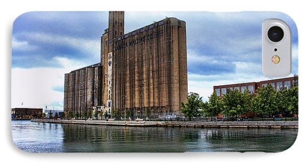 Canada Malting Silos IPhone Case by Nicky Jameson