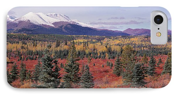 Canada, Yukon Territory, View Of Pines IPhone Case by Panoramic Images