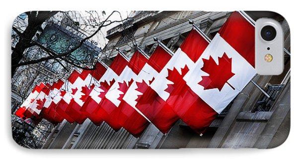 Canadian Embassy London Phone Case by Mark Rogan