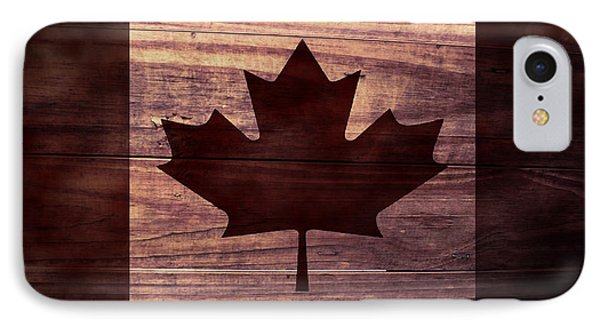 Canadian Flag I IPhone Case