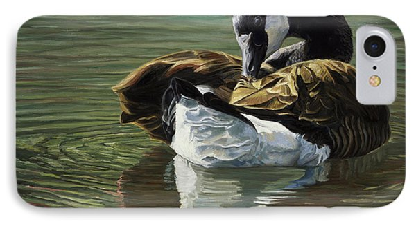 Canadian Goose IPhone 7 Case by Lucie Bilodeau