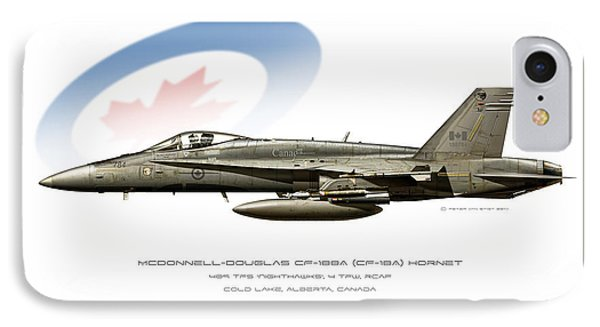Canadian Hornet IPhone Case by Peter Van Stigt