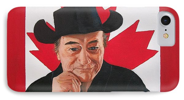 Canadian Icon Stompin' Tom Conners  IPhone Case by Sharon Duguay