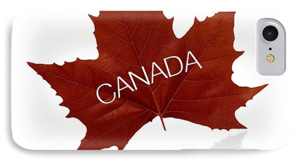 Canadian Maple Leaf IPhone Case by Aged Pixel