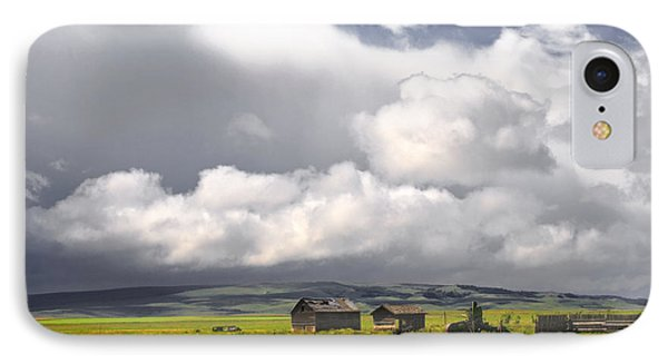 Canadian Prairie IPhone Case by Charline Xia