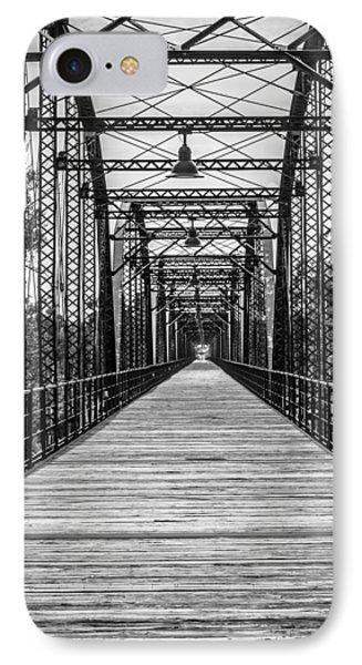 Canadian River Bridge IPhone Case
