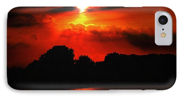 Canadian Sunrise IPhone Case by Michael Rucker