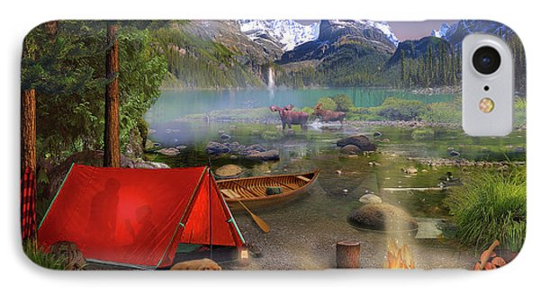 Canadian Wilderness Trip IPhone Case by David M ( Maclean )