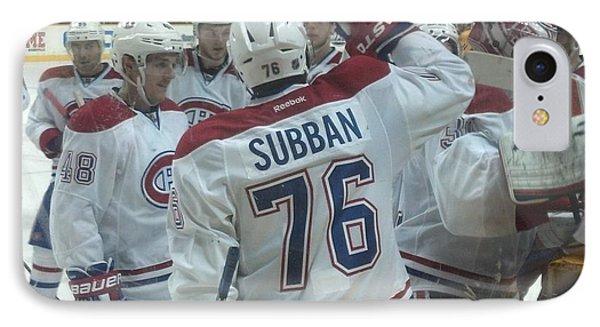 Canadiens Win IPhone Case