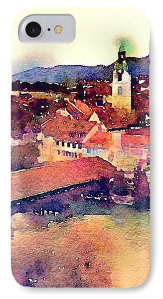 Canal At Thurgau IPhone Case by Susan Maxwell Schmidt