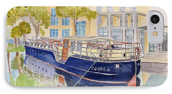 Canal Boat IPhone Case by Eva Ason
