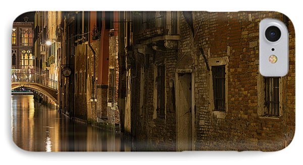 Canal Reflections IPhone Case by Marion Galt