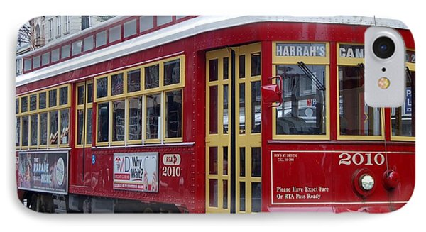 Canal Streetcar Nola IPhone Case