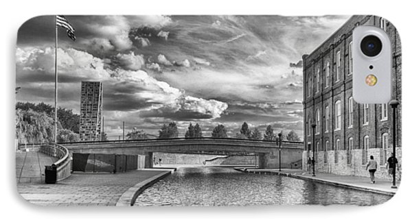 Canal Walk IPhone Case by Howard Salmon