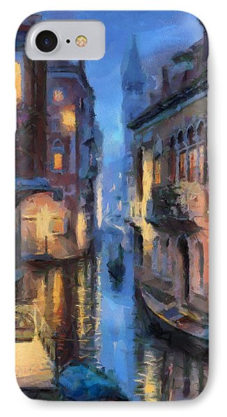 Canale Venice IPhone Case by Georgi Dimitrov