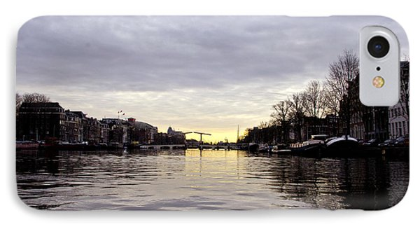 Canals Of Amsterdam Phone Case by Pravine Chester