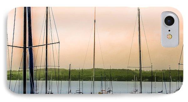 Canandaigua Lake IPhone Case by Ken Marsh