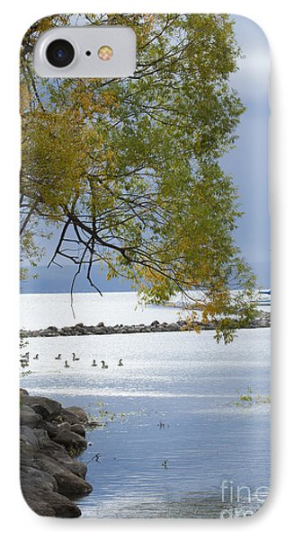 Canandaigua Lake Outlet IPhone Case by Roger Bailey