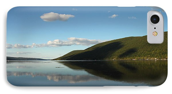 Canandaigua Lake Reflection IPhone Case by Steve Clough
