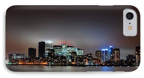 London Skyline IPhone Case by Mark Rogan