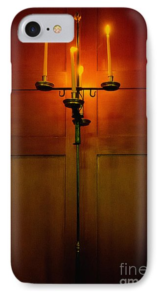 Candelabra IPhone Case by Margie Hurwich