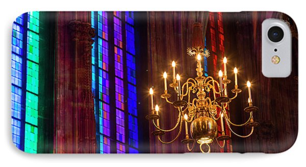 Candelabra, St Stephens Cathedral IPhone Case by Peter Adams