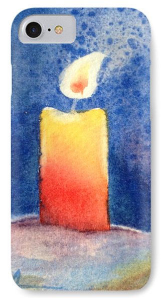 Candle Glow IPhone Case by Marilyn Jacobson