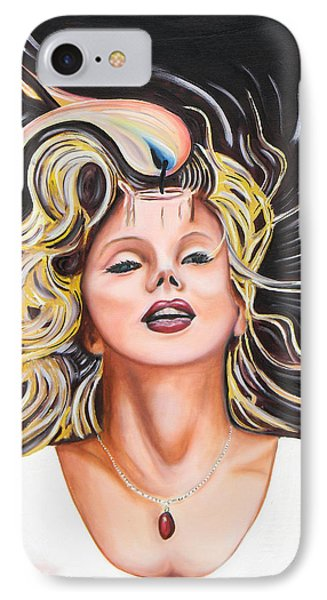 Candle In The Wind Phone Case by Dean Glorso