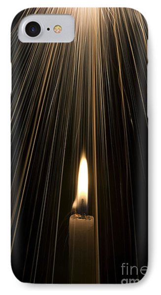 Candle Light IPhone Case by Tim Gainey