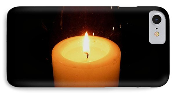 Candlelight Moments IPhone Case by Joseph Baril