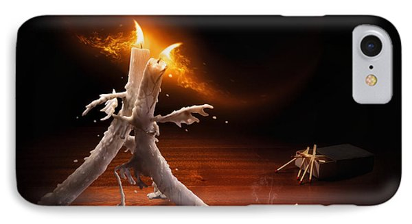 Candlelight Tango IPhone Case